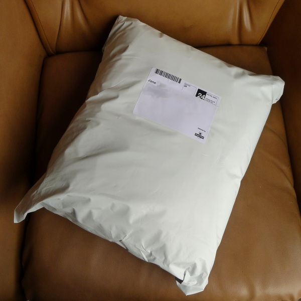 Squashy parcel