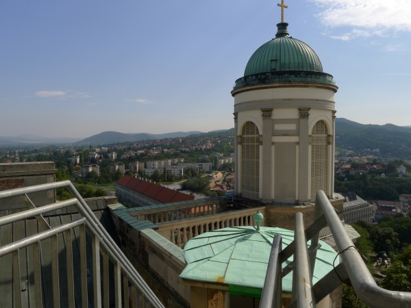 View with tower
