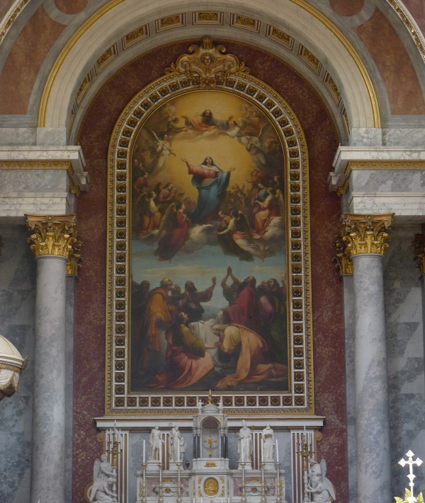 Painting over main altar