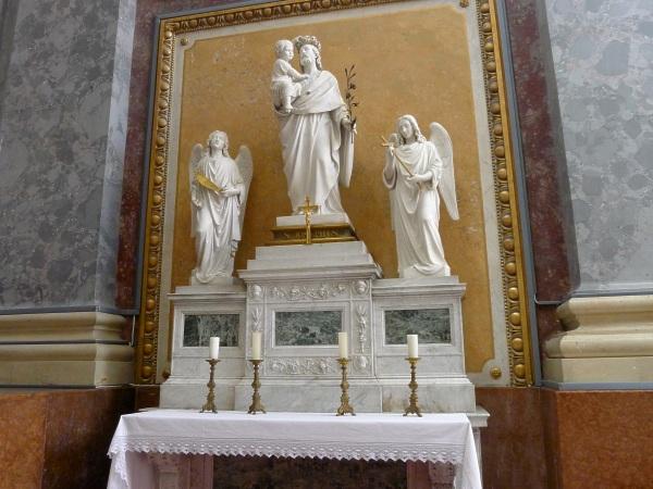 St Joseph altar