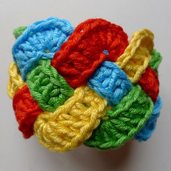 Celtic napkin ring front