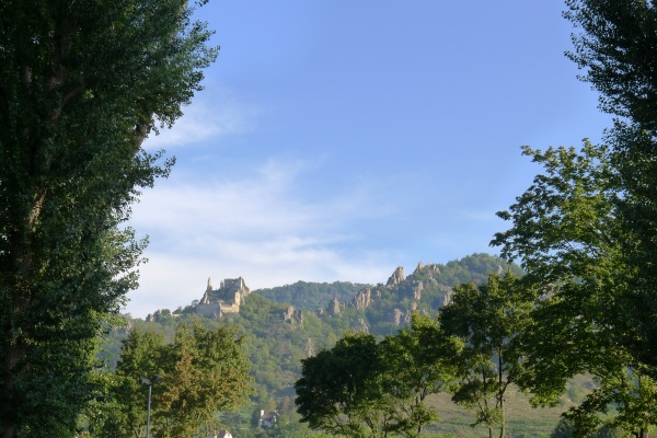 First view of castle