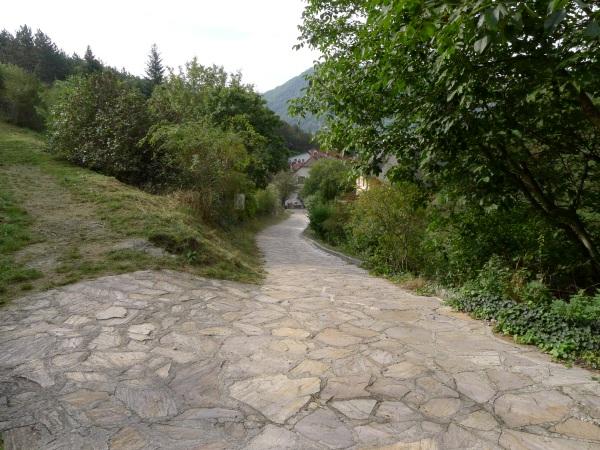 Path back down