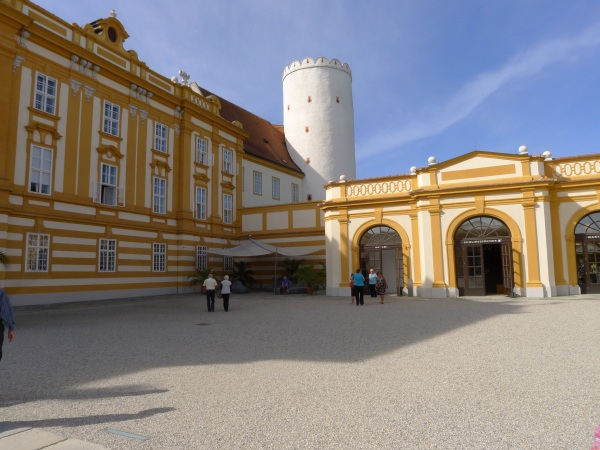 Outer courtyard