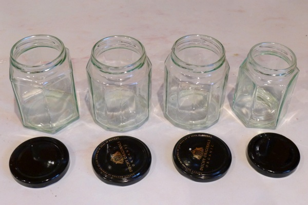 Prepared jars