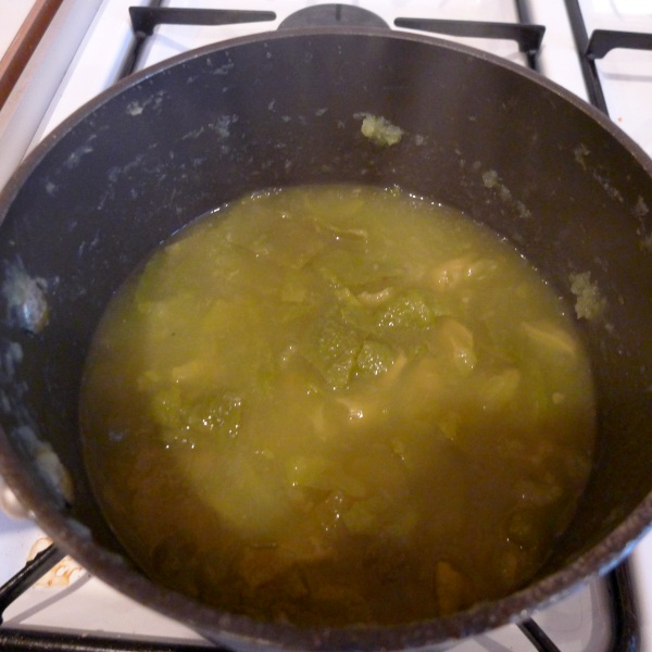 Stewed quinces