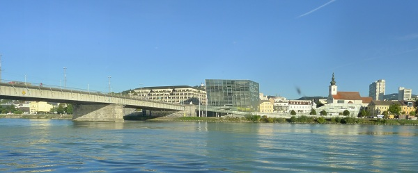 The Danube at Linz