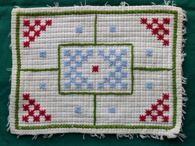 Eldest child embroidery