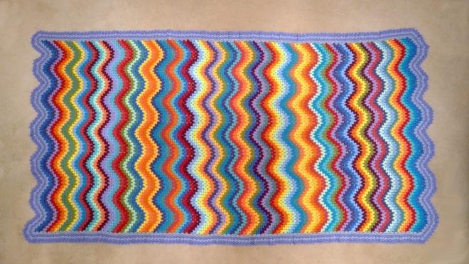 Blanket completed
