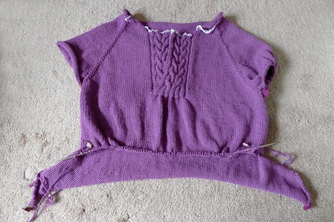Front of jumper