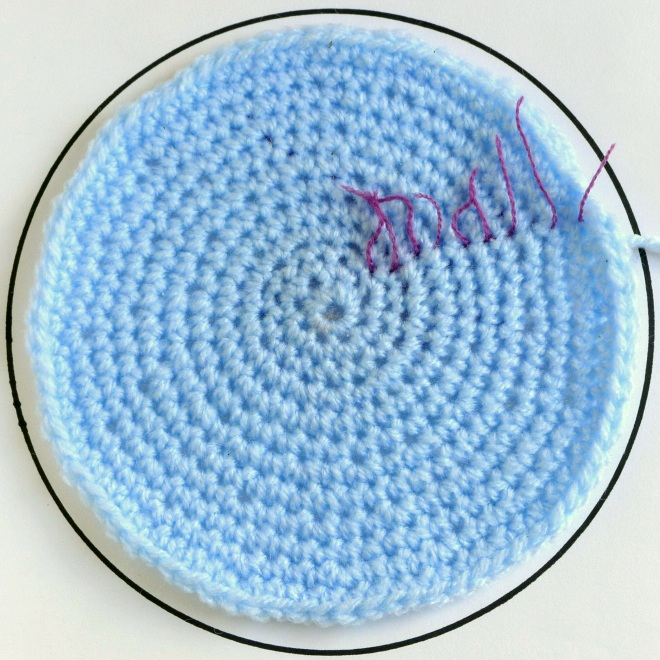 Circle with round markers