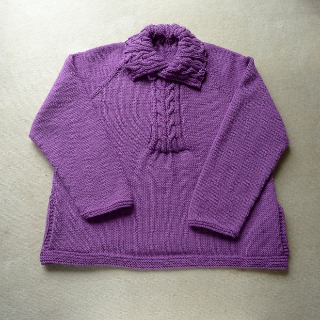 Bed jacket with button done up