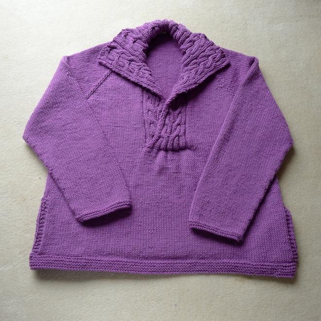Finished bed jacket