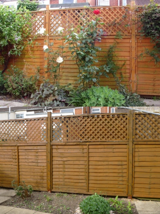Comparison of fence colour
