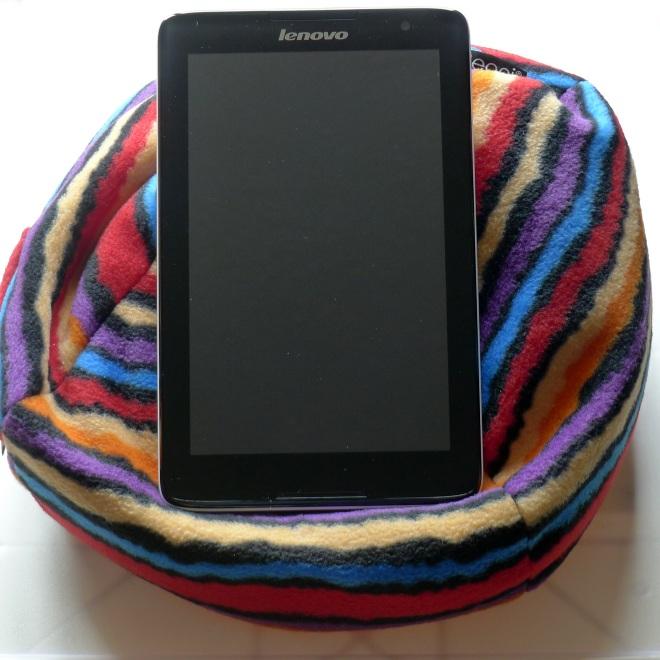 Tablet stand portrait orientation