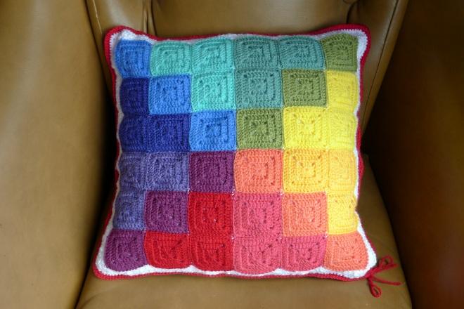 Final cushion first side