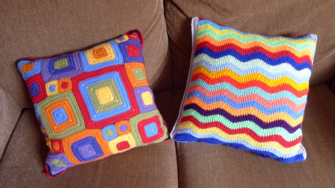 Two cushions second sides