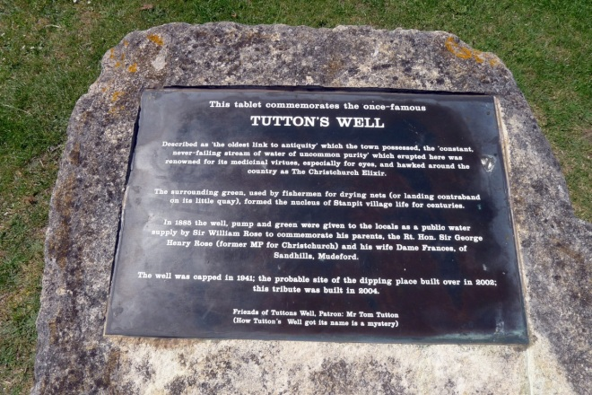 Tuttons well sign