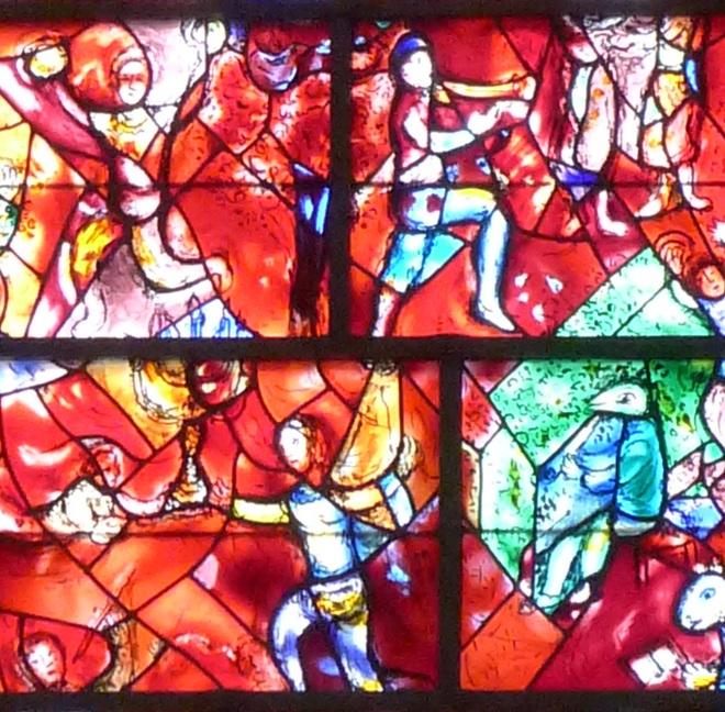 Chagall window closer