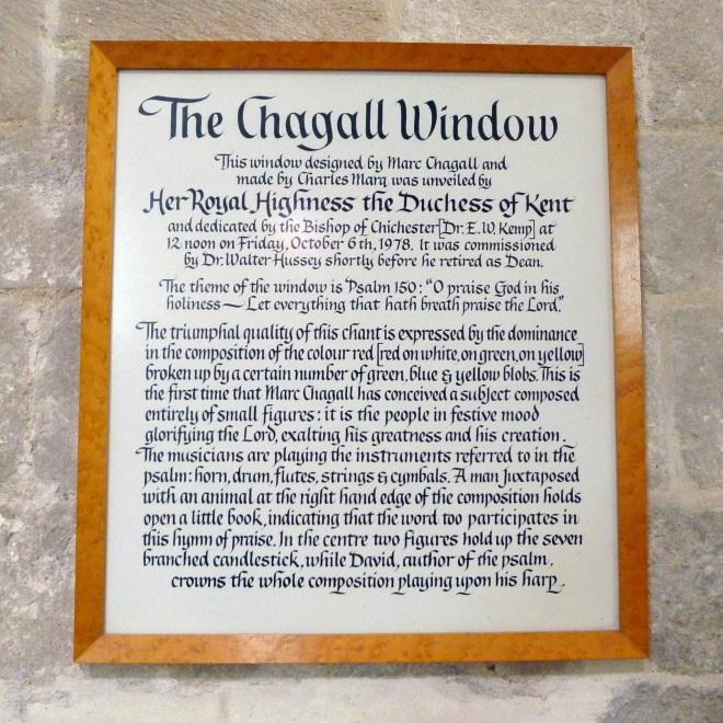 Chagall window description
