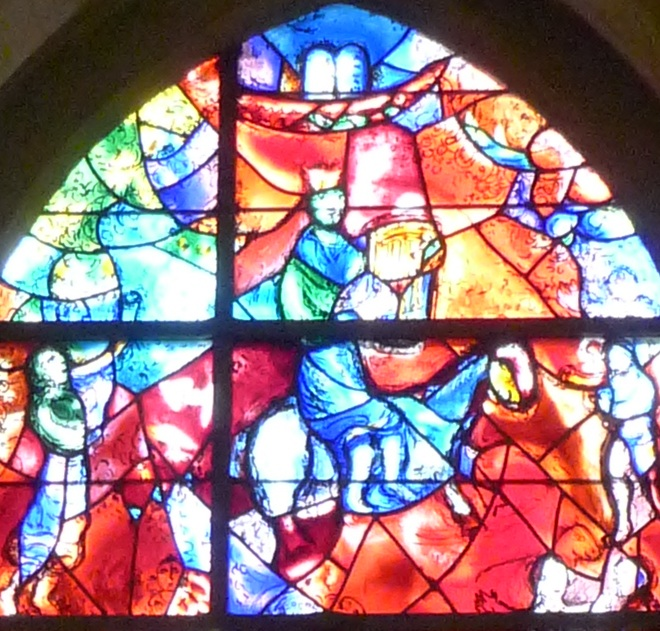 Chagall window King David