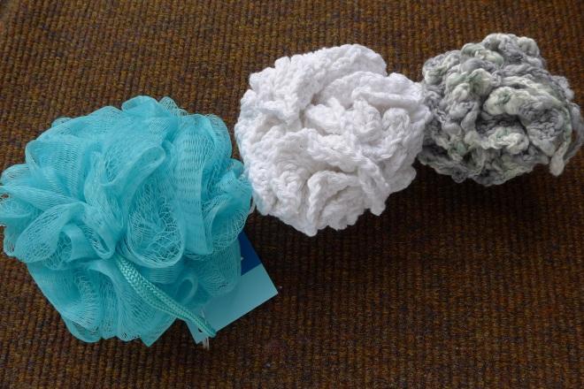 Three puff size comparison