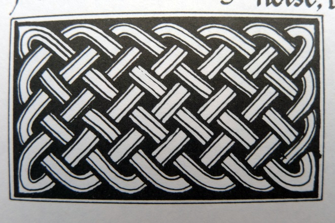 Celtic plaitwork