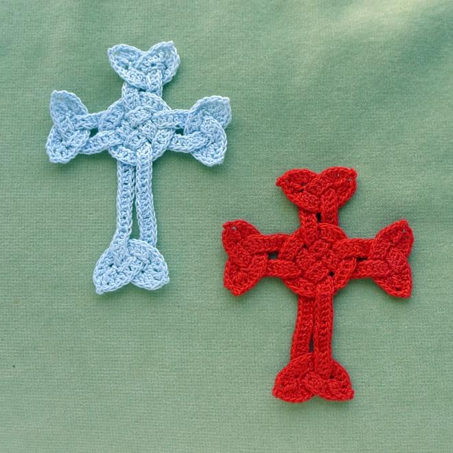 Two plain crosses