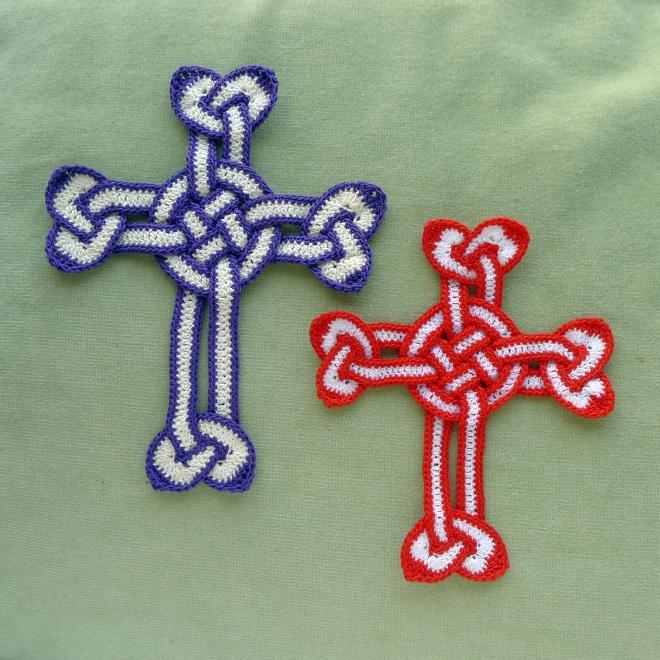Two edged crosses