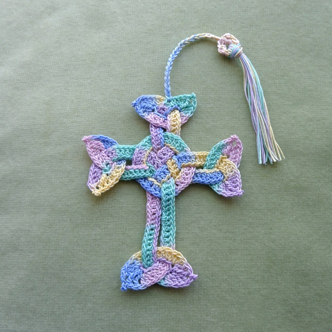 Celtic cross with tassel
