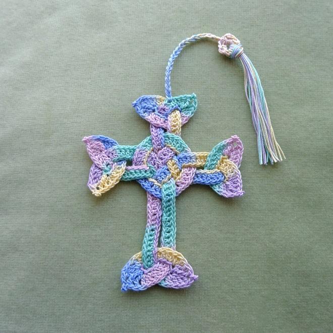 Celtic cross with tassel