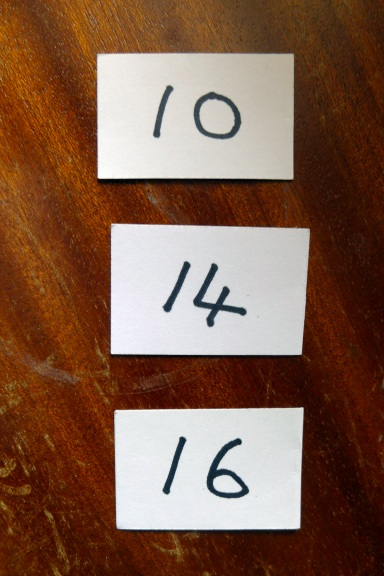 Chosen numbers