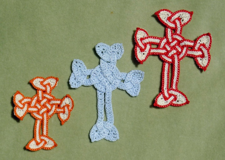 New Celtic cross first two attempts with original