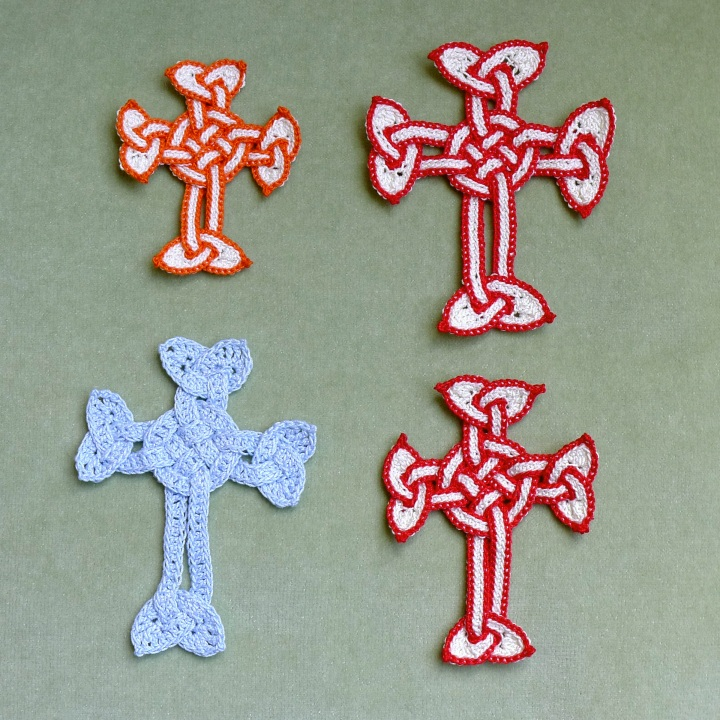 New Celtic cross all three attempts with original