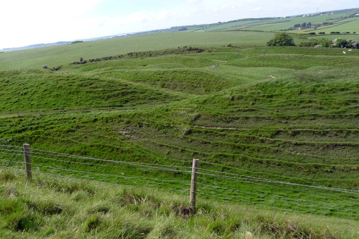 Entrance to Maiden Castle