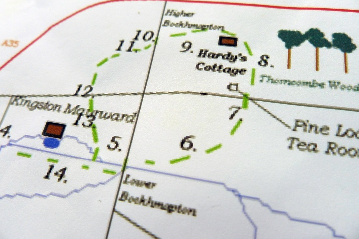 part of map
