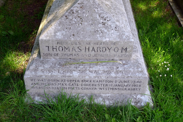 Grave of Hardy's heart