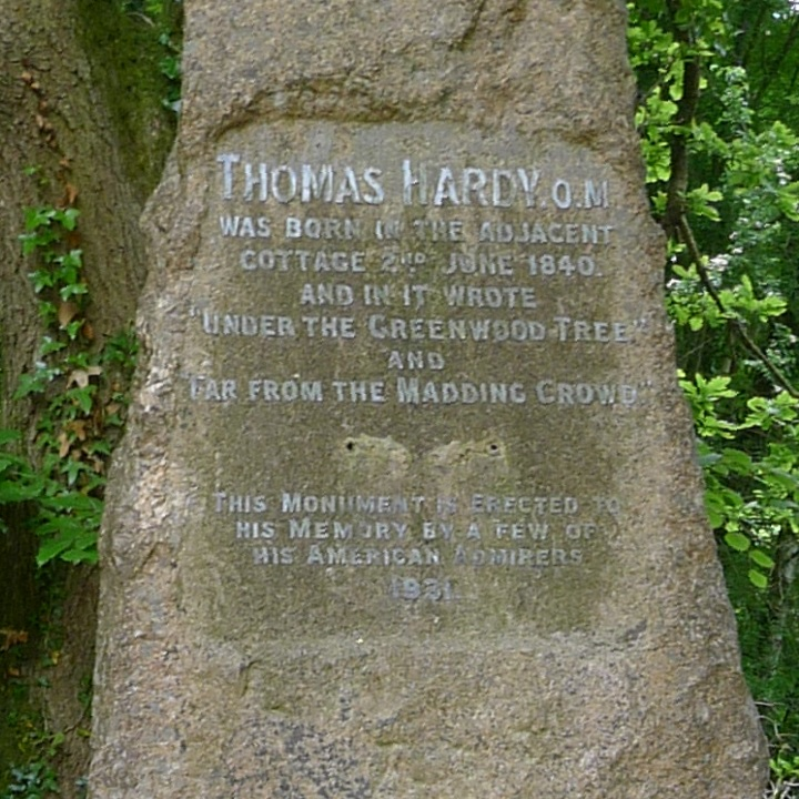 Text on Hardy memorial