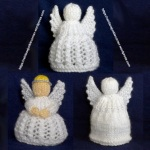 Three Small Angels - knitted
