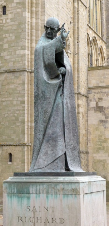 statue of St Rchard of Chichester