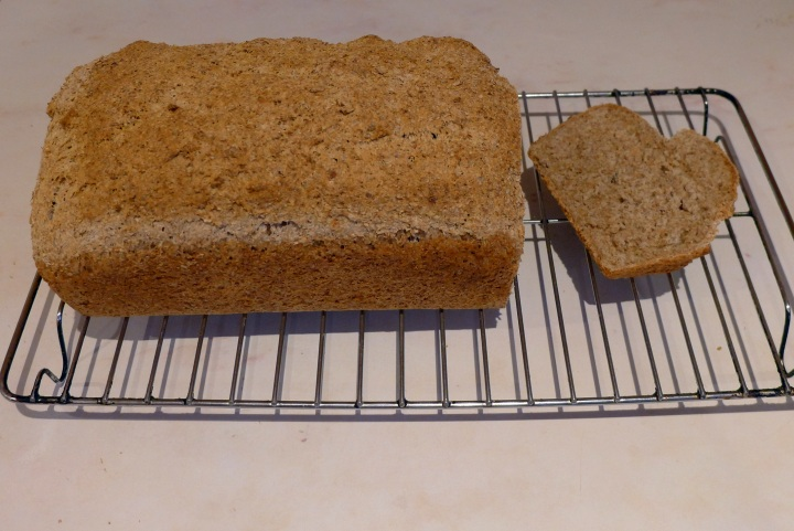 finished cooked loaf