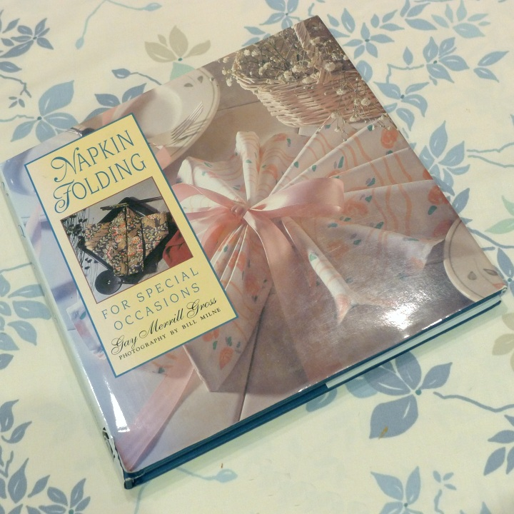 napkin folding book