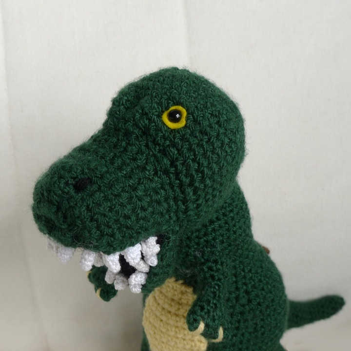 Dinosaur looking at you