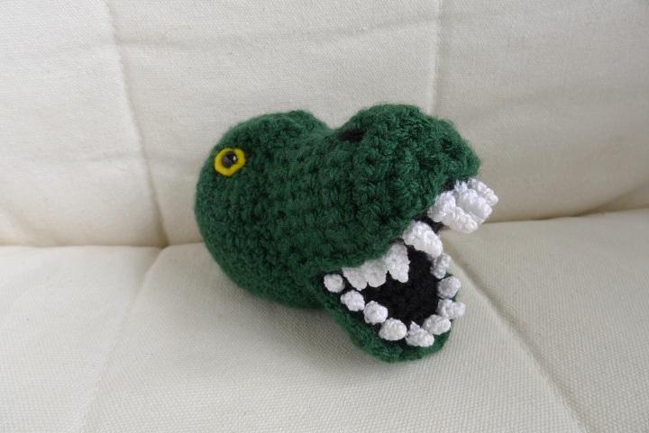 head with teeth