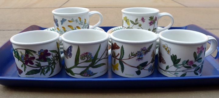 six cups