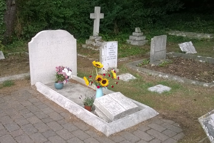 TE Lawrence grave