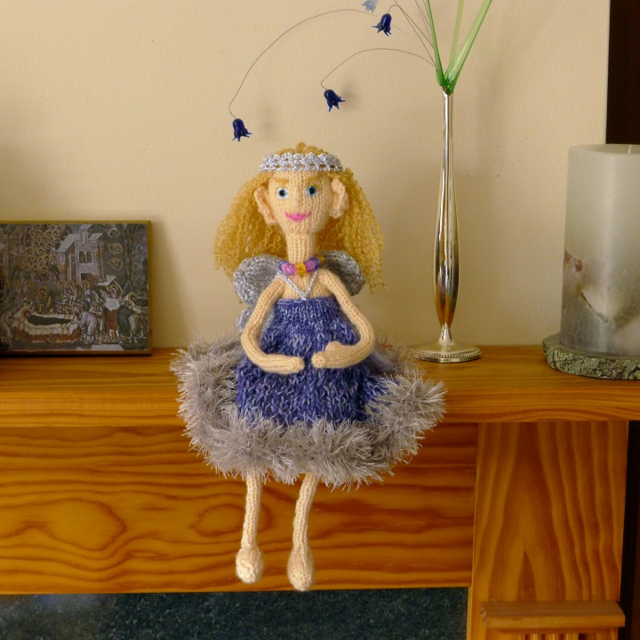 Fairy on mantlepiece as it normally is