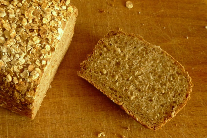 bread sliced