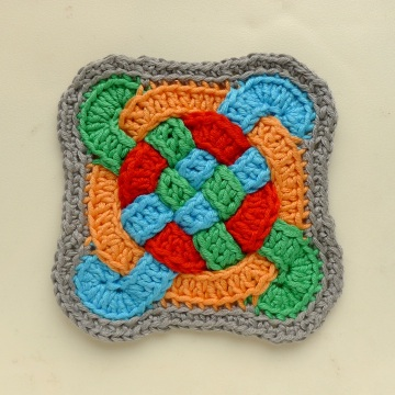 another Edged Celtic Coaster