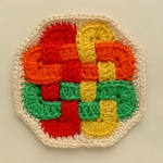 octagonal Celtic Coaster